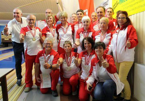 Das Vorarlberger Team. vbfkv