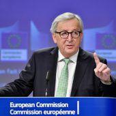 Juncker zieht positive Bilanz