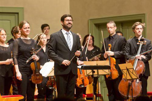 Der Auftritt von Markus Pferscher und seiner tonart sinfonietta bei der Emsiana-Eröffnung hatte Klasse. Mathis/Veranstalter