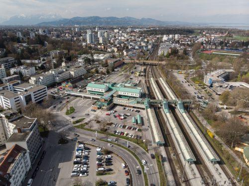 Ein neuer Entwurf sieht vor, dass durch bauliche Veränderungen ein Quartier vom HTL-Kreisverkehr bis zur Quellenstraße entsteht. vn/hartinger
