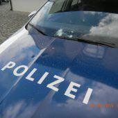 Polizeiauto im Visier