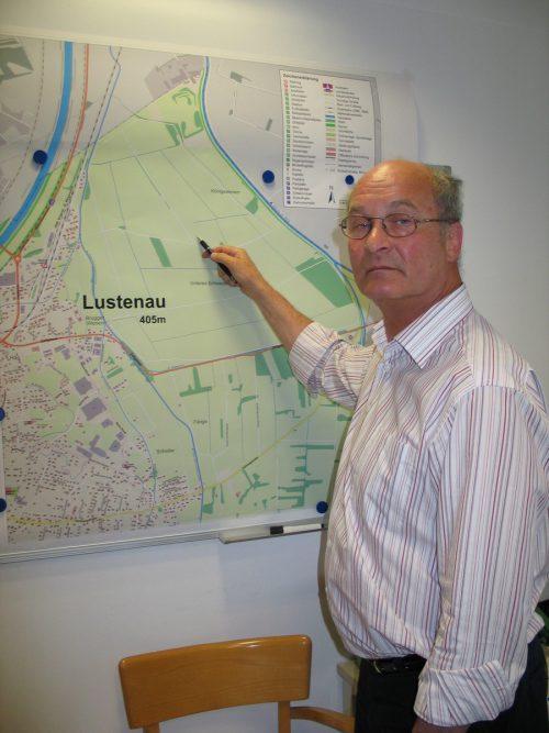 Der ehemalige Chefinspektor Hans Poiger. vn