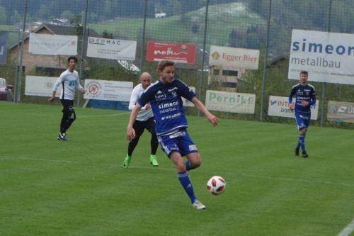 Der FC Andelsbuchholte aus den vergangenen zwölf Partien stolze 29 Punkte, heute geht es gegen Bizau. siha