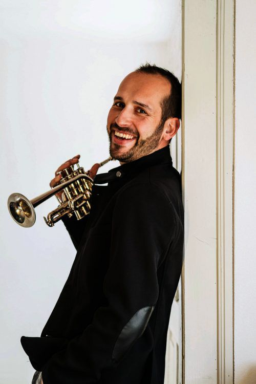 Der in Hohenems geborene und international tätige Trompeter Jürgen Ellensohn ist musikalischer Gast von tonart sinfonietta beim Eröffnungskonzert der Emsiana 2019.URSULA DÜNSER