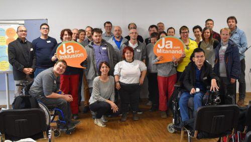 Der Lebenshilfe Trialog findet jährlich statt und beschäftigt sich mit der Teilhabe von Menschen mit Behinderung. Loacker