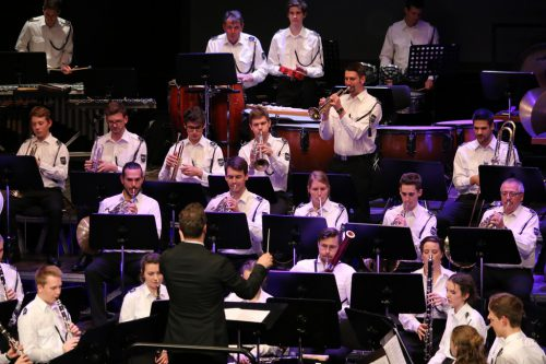 Der Musikverein Rohrbach lud zum Jubiläumskonzert.cth