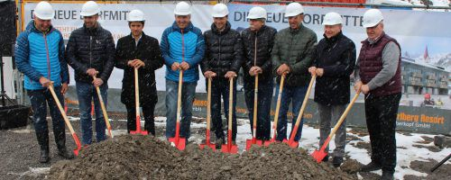 Der offizielle Baustart für das Projekt Biberkopf in Warth ist erfolgt.