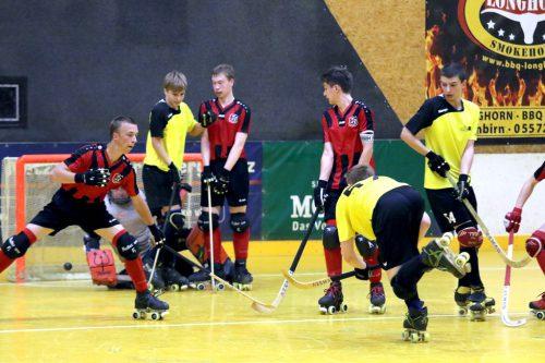 Der RHC Dornbirn zeigte beim Derby eine starke Mannschaftsleistung und gewann am Ende mit 3:2 gegen Wolfurt.cth