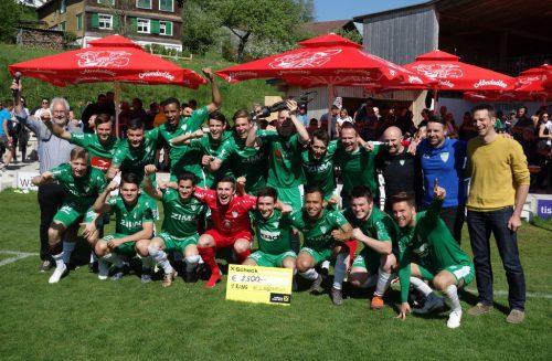 Der Sieg im Wäldercup ging an den FC Langenegg. siha