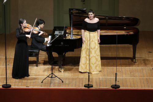 Der US-amerikanische Pianist Kit Armstrong brillierte bei der Schubertiade. JU