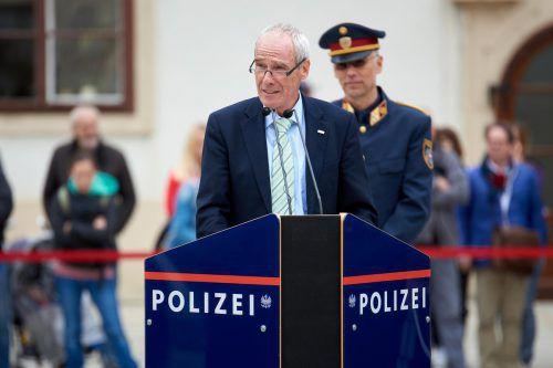 Der Vorarlberger Ratz ist seit vergangener Woche Innenminister.APA