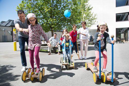 Der Weltspieltag in Wolfurt, morgen, Samstag, von 11 bis 16 Uhr, bietet zahlreiche unterhaltsame Aktivitäten. M. Shourot