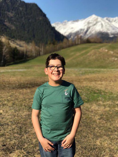 Der zwölfjährige Joshua wird sein Talent am Keyboard demonstrieren. pichler