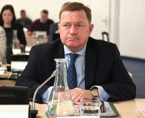 Derzeit noch im BVT-U-Ausschuss, bald Volksanwalt: Werner Amon. APA