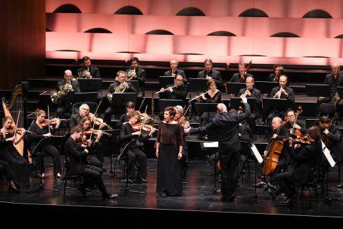 Die Bregenzer Meisterkonzert-Saison wurde mit dem Kammerorchester Basel unter Paul McCreesh und Waltraud Meier beendet. stadt Bregenz/Mittelberger
