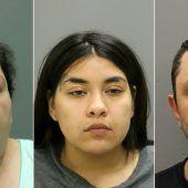 Schwangere ermordet und Baby geraubt: drei Festnahmen