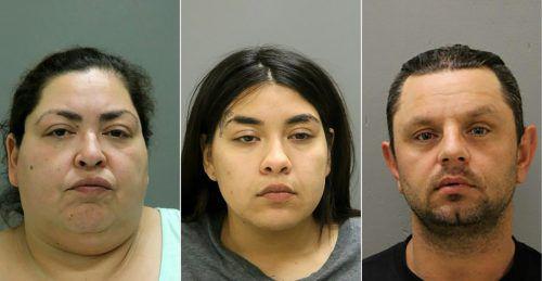 Die drei Festgenommenen stehen unter Mordverdacht. AFP/Chicago P. D.