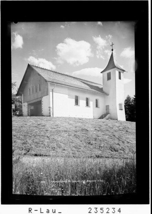 Die Fatimakapelle erhielt am 1.Mai 1934 ihre Weihe.