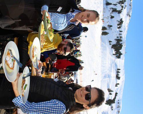 """Die """"Hauben-Gastronomie"""" im S 1 am Salober sorgt auch für kulinarische Hightlights am wohl beliebtesten und attraktivsten Skiberg des Landes."""
