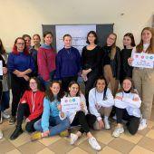 HTL-Schülerinnen spenden Projekt-Erlös