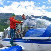 Flugtag für Kinder mit Handicap