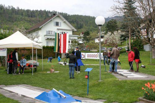 Die Klauser Minigolfanlage ist wieder geöffnet.bahnengolf-sportclub klaus
