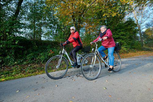 Die Marktgemeinde Lustenau bietet ein E-Bike-Training an. Gemeinde