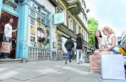 Die Marktstraße bildet das Herz desKarolinenviertels. www.hamburg.de