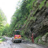 Felsräumung an Ebniterstraße