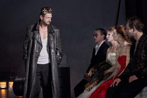 """Die neue Inszenierung von """"König Ottokar"""" ist ab Samstag im Vorarlberger Landestheater zu sehen.vlt/Köhler"""
