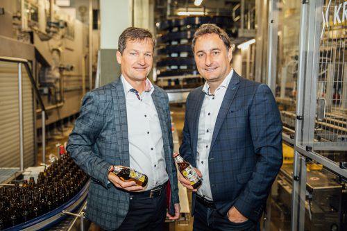 Die neue Leichtigkeit: Mohren-Chefs Heinz Huber und Thomas Pachole.Fa/sams