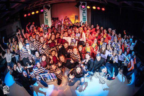 Die Schüler der FRK Dance School überzeugten bei den City Pool Beatz die Juroren. schule