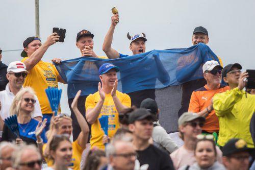 Die schwedischen Fans kommen seit 27 Jahren nach Götzis und verbinden den Besuch beim Hypomeeting mit einem Urlaub im Ländle. Steurer