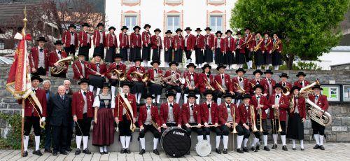 Die Sonnenberger Harmoniemusik Nüziders lädt heute ab 19.30 Uhr zum ersten von fünf Quartierskonzerten beim Raiffeisenplatz. SHN