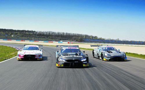 Die Teams von Audi, BMW und Aston Martin kämpfen in diesem Jahr bei 18 Läufen um die DTM-Krone.dtm