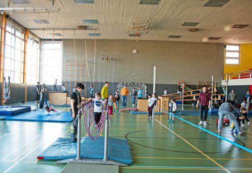 Die Turnhalle im Herrenried wird im Sommer umfassend saniert, wovon nicht nur der Handballsport profitieren soll. tf