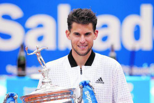 """Dominic Thiem würde gerne Federer fordern: """"Er spielt so schönes Tennis."""" APA"""