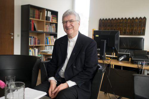 Dompfarrer Rudi Bischof legt die Funktion des Generalvikars nieder. VN/Hartinger