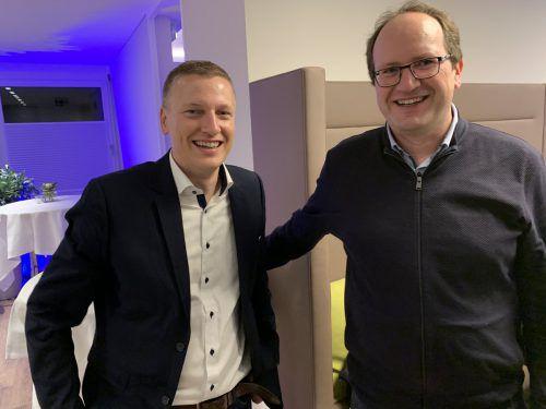 Dr. Julian Jankovsky (LKH Feldkirch) und Dr. Daniel Sturn.