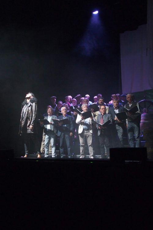 """Ein Abend zwischen Konzert und kleinem Theaterstück bot der Dornbirner Männerchor """"Mann o Mann"""". Veranstalter"""