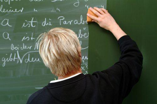 Die jährlichen Gehaltskosten der Lehrer pro Schüler sind in Österreich deutlich höher als im OECD-Schnitt.APA