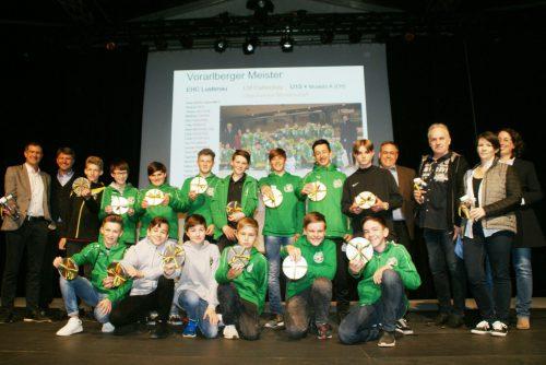 Eine Auszeichnung für die Lustenauer Eishockeyjugend.pe