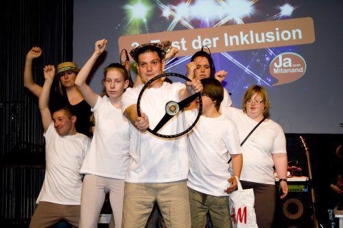 Eine erstklassige Show bot das Tanzhaus Hohenems. Franc