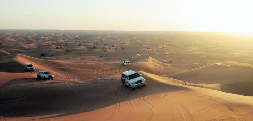Eine Fahrt mit dem Jeep über die Sanddünen ist abenteurlich und wunderschön.