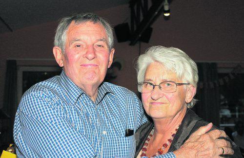 Erika und Ernst Treimel blicken zufrieden auf ein erfülltes Leben. Privat