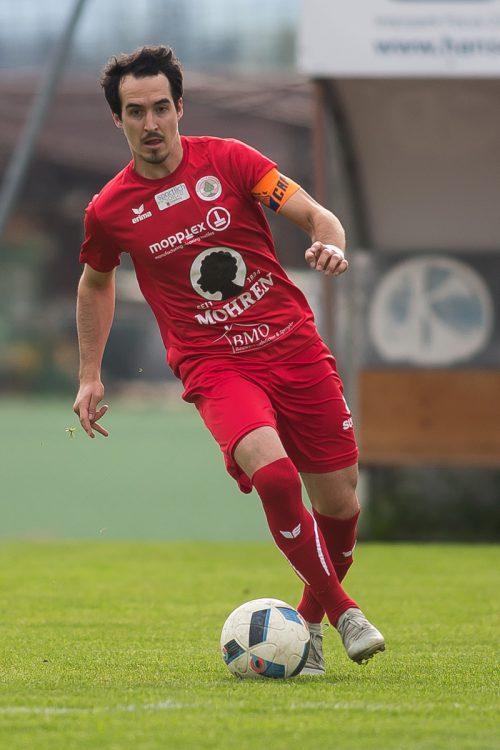 Felix Schöch und der FC Dornbirn sind in Wörgl zu Gast.Steurer