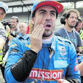 Alonso nicht fürsIndy 500 qualifiziert