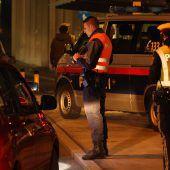 Aktion scharf der Polizei kostete 15 Fahrzeuglenker ihren Führerschein. B1