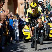 Roglic beim Giro in Front