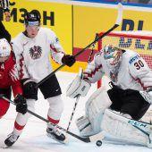 Österreich musste sich bei der Eishockey-WM der Schweiz 0:4 beugen. C1